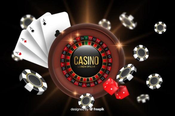 Free Vector | Realistic casino background