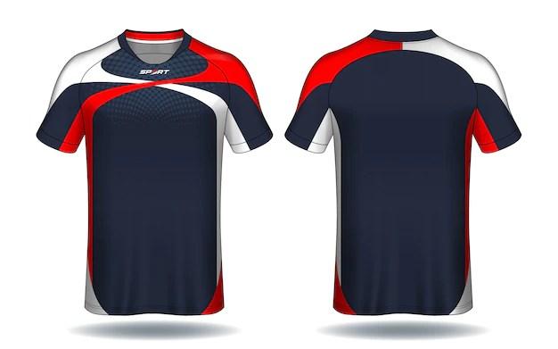 Download Premium Vector   Soccer jersey template.sport t-shirt design.