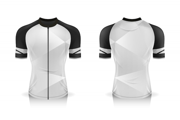 Download Specification cycling jersey template. mock up sport t ...
