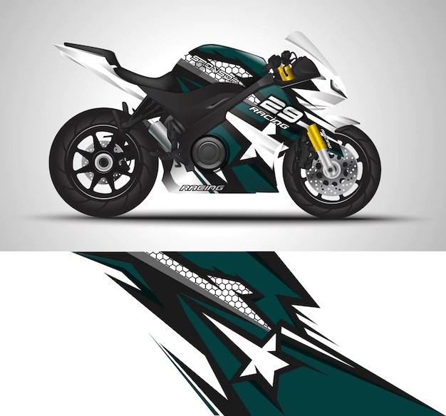 Premium Vector Sportbike Motorcycle Motorsport And Vinyl Sticker Design