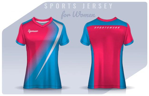 Download Premium Vector | T-shirt sport design for women, soccer ...