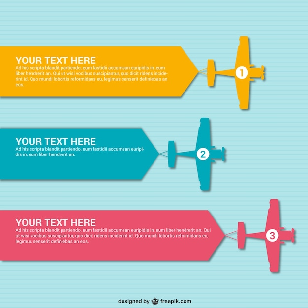 Info Graphic Templates. 8 free infographic vector design elements ...
