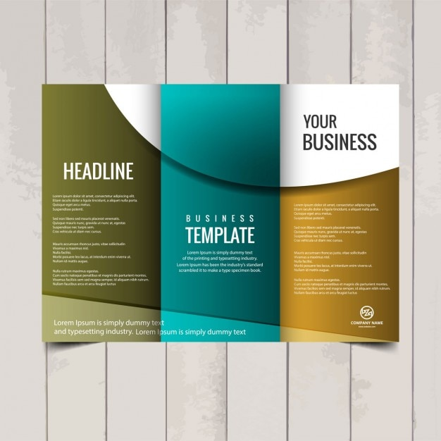images for trifold brochure templates