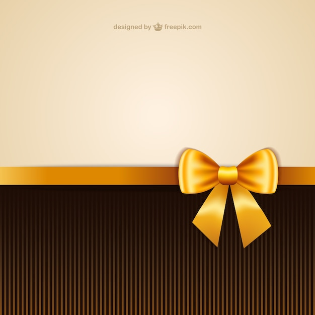 Wallpaper With Yellow Ribbon Vector Free Download
