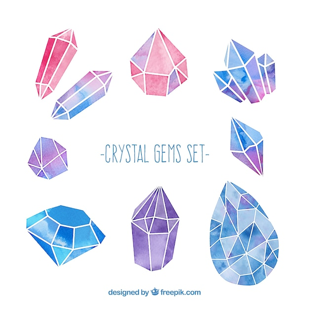 Crystal Vectors Photos And PSD Files Free Download