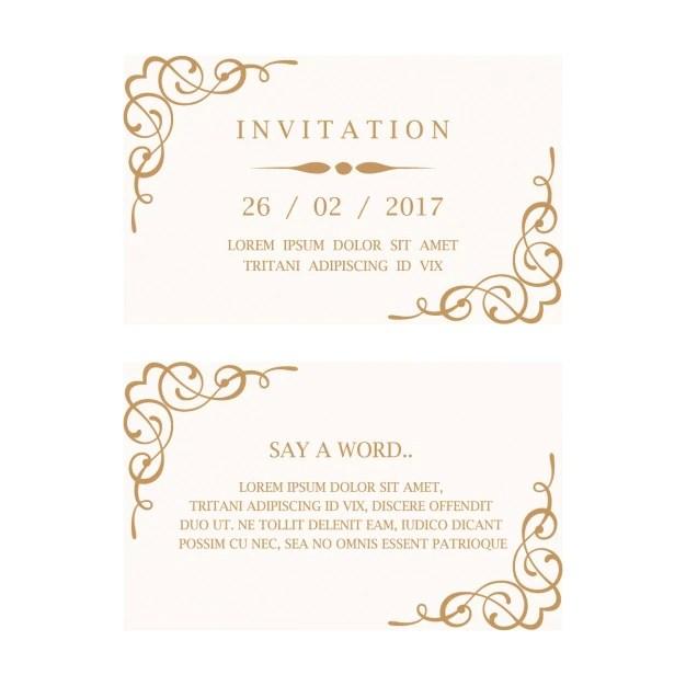 Wedding Invitation Psd Files Free Download 3