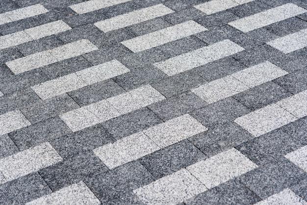 Fond Texture Rectangulaire En Granit Carrelage Gris Clair Et Gris Fonce Photo Premium