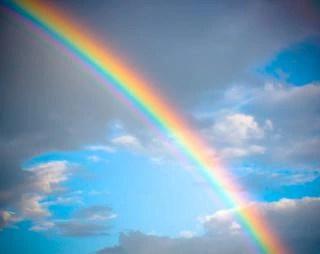 arc en ciel, fond Photo gratuit