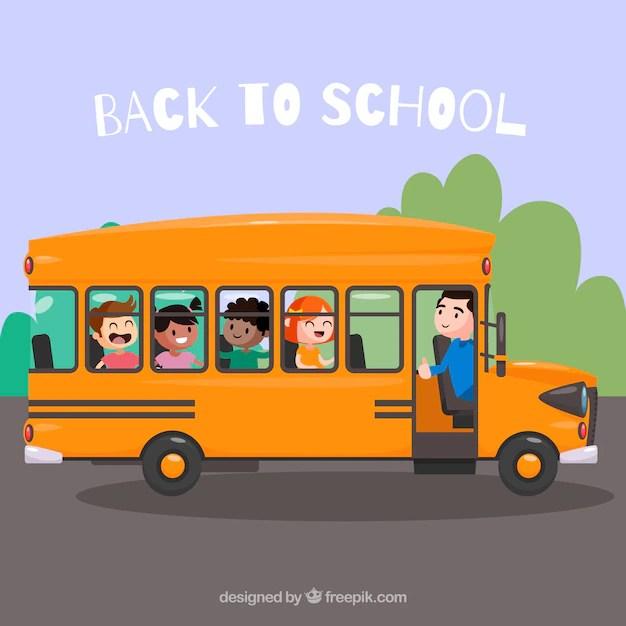 Dessin Anime Avec Un Bus Jaune Le Bus Magique Va Revenir A