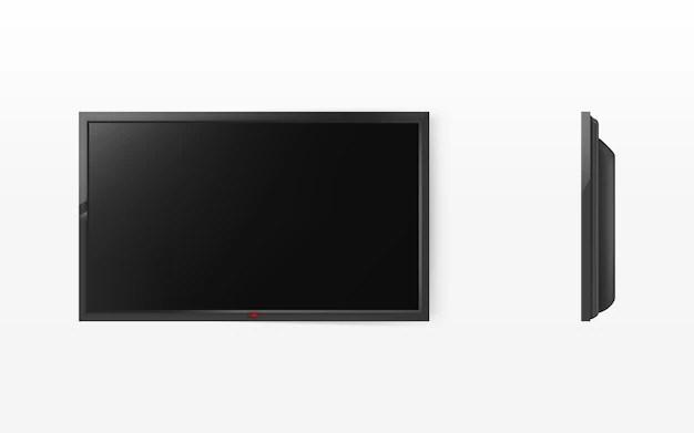 tv panneau noir moderne d affichage