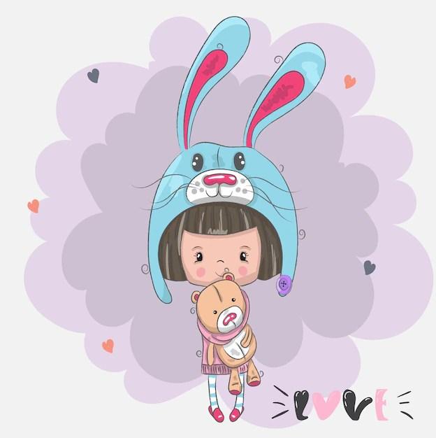 Dessin Anime Avec Petite Fille Anime Mignonne Petite Fille