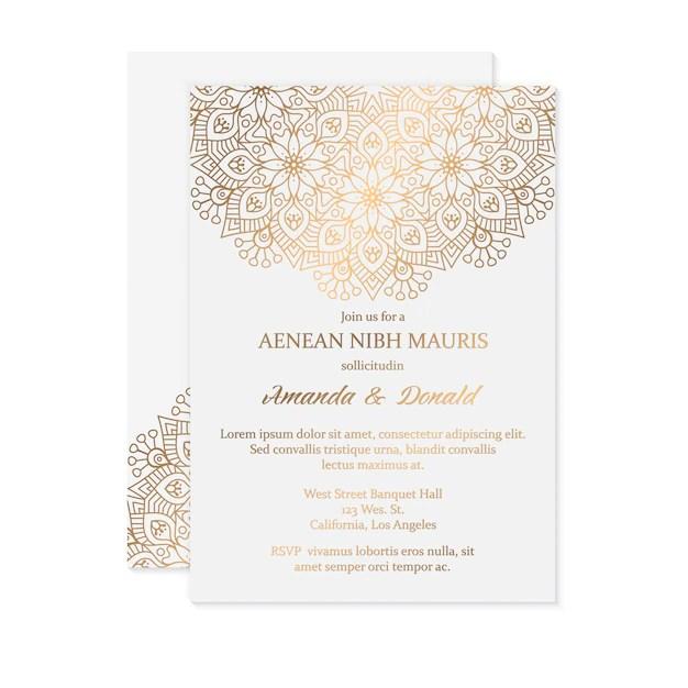 carte invitation mariage marocain free