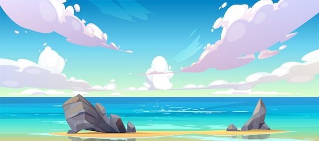 ocean ou mer plage nature paysage