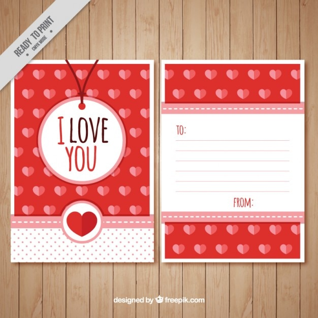 Bonita Carta De Amor Llena De Corazones Descargar