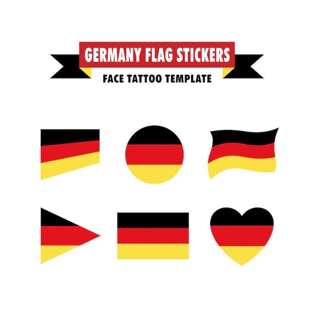 Tolle Flagge Vorlage Ideen Beispiel Wiederaufnahme