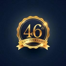 Resultado de imagem para aniversário 46