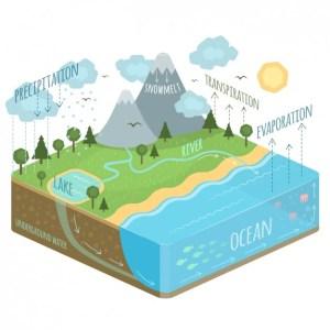 Diagrama Ciclo da Água | Baixar vetores grátis
