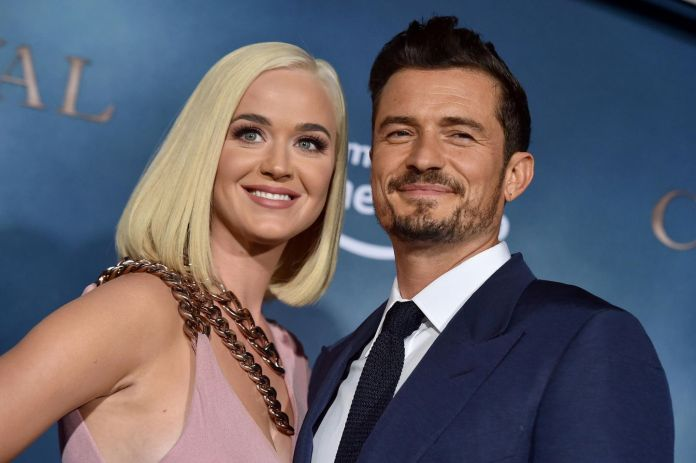 Katy Perry + Orlando Bloom