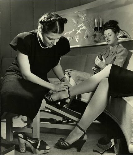 1940s womens shoes