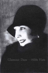 1920s-womens-hat fashion