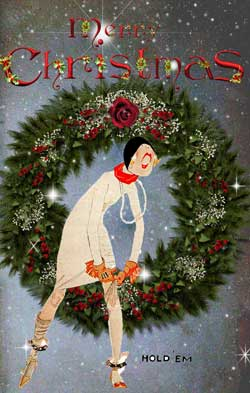 Vintage Christmas Cards From Glamourdaze Glamour Daze