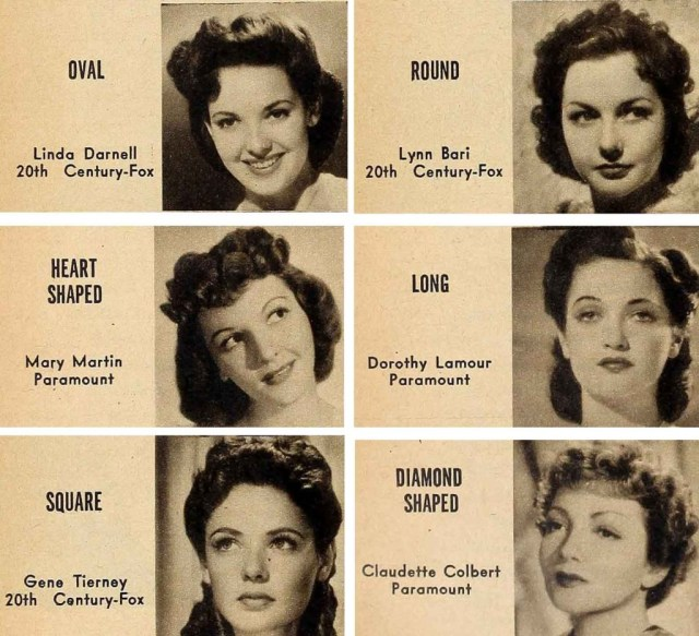 1940's bombshell hair and make-up looks to try from 1942