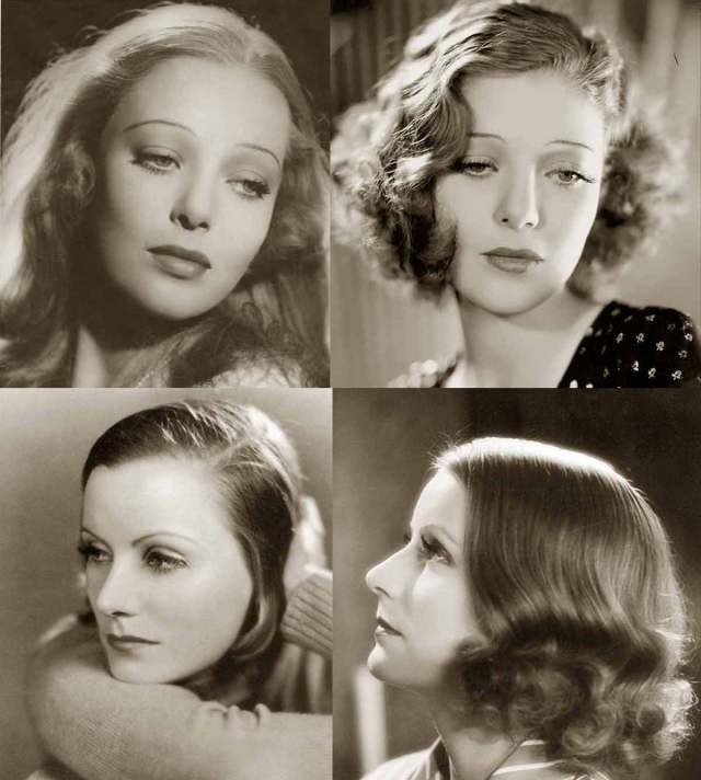 1930s hairstyles - face changes | glamour daze