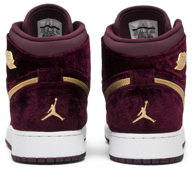 air jordan 1 heiress gg velvet