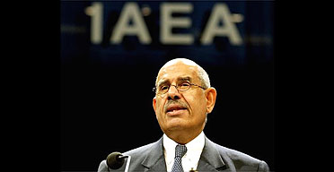 Mohamed ElBaradei, head of the International Atomic Energy Agency
