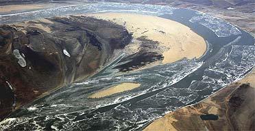 Polluted river- Songhuajiang