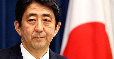 Abe resigns.