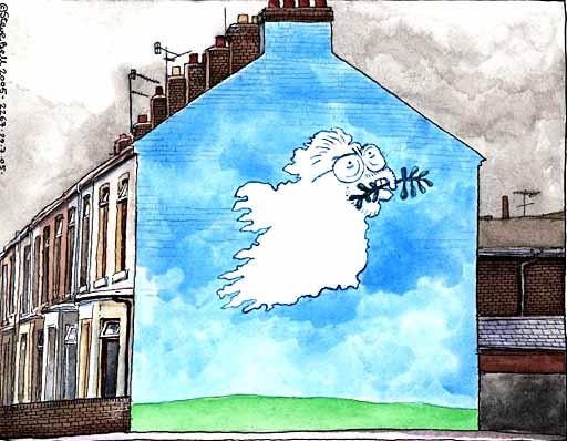 Steve Bell Cartoon