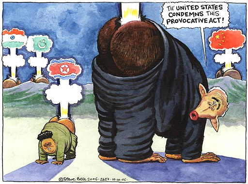 Steve Bell on the new nuclear arms race