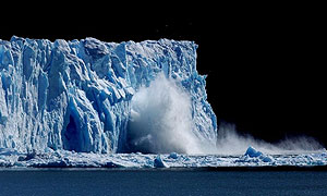 Melting ice | Image: Guardian Unlimited