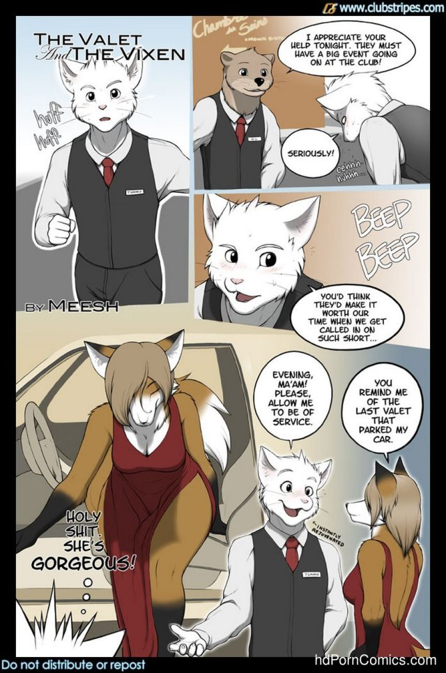 The Valet And The Vixen 1 2 Free Sex Comic Image