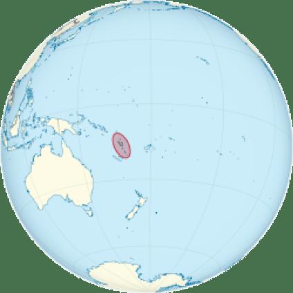 Lokasi Vanuatu yang terpencil di tengah luasnya samudra