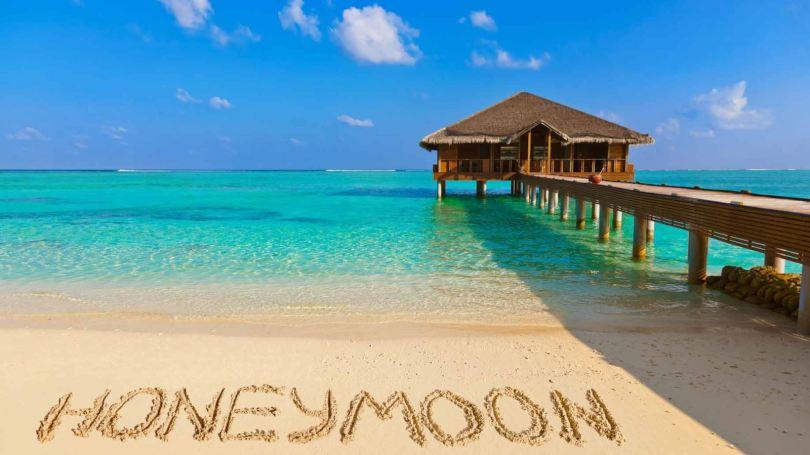 tuần trăng mật ở biển
