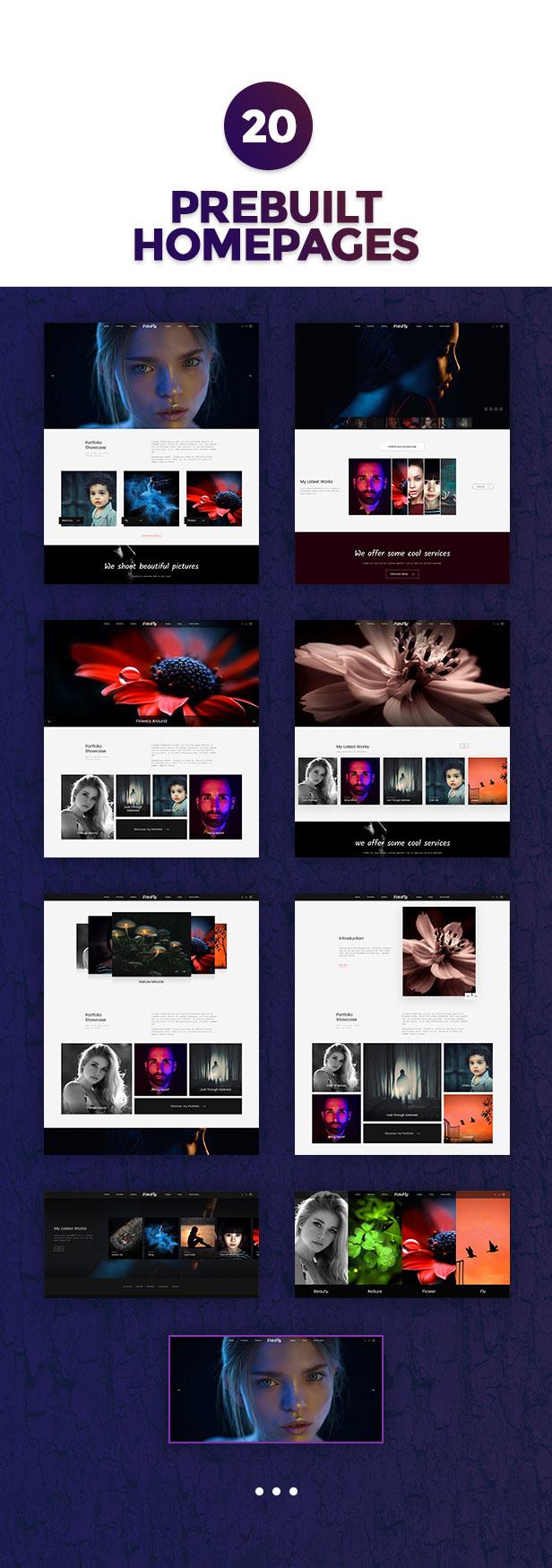 Fotofly - Photography WordPress Theme 5