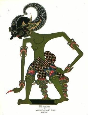 Bima, tokoh wayang yang mewakili filosofi Jawa dalam pencarian kebenaran