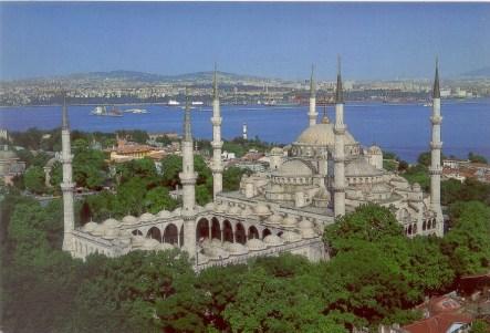 Masjid Biru di Istanbul