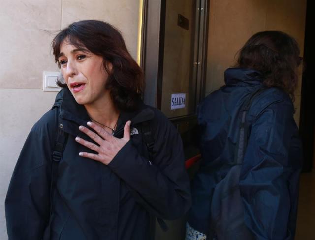 """Juana Rivas pide justicia para que sus hijos no vean que la """"apalean"""" y la castigan"""