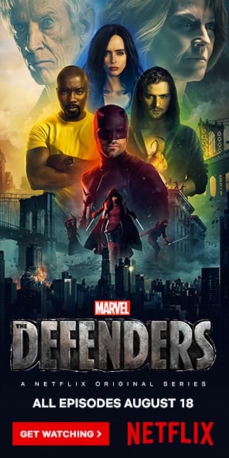 Algemene poster van The Defenders op Netflix België
