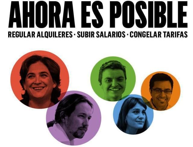 Iglesias presentará la agenda del cambio social en Barcelona junto a Ada Colau