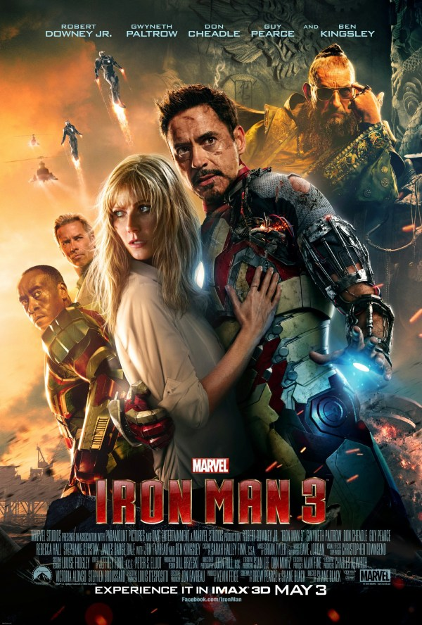 urutan film marvel - 7 - Iron Man 3
