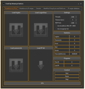 RDP Brute (Cracked by Arman)