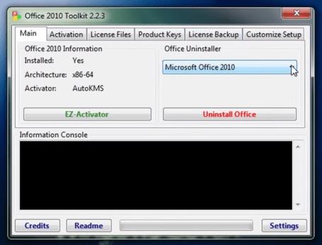 activador de office 2010