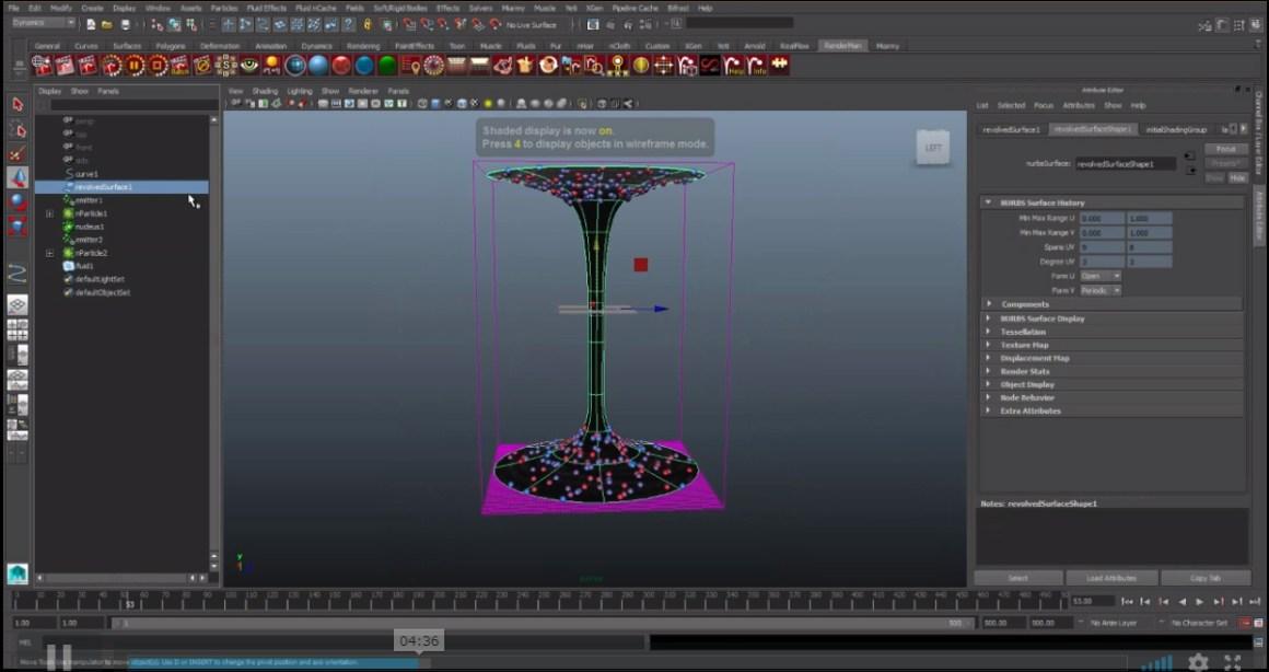 Maya fluid tornado tutorial by khalil khalilian
