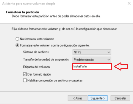 Instalar Windows sin USB ni CDs - Asistente dar formato setup 4