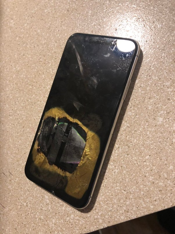 iPhone X explota