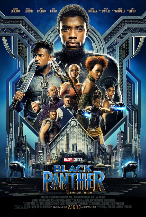 urutan film marvel - 18 - Black Panther